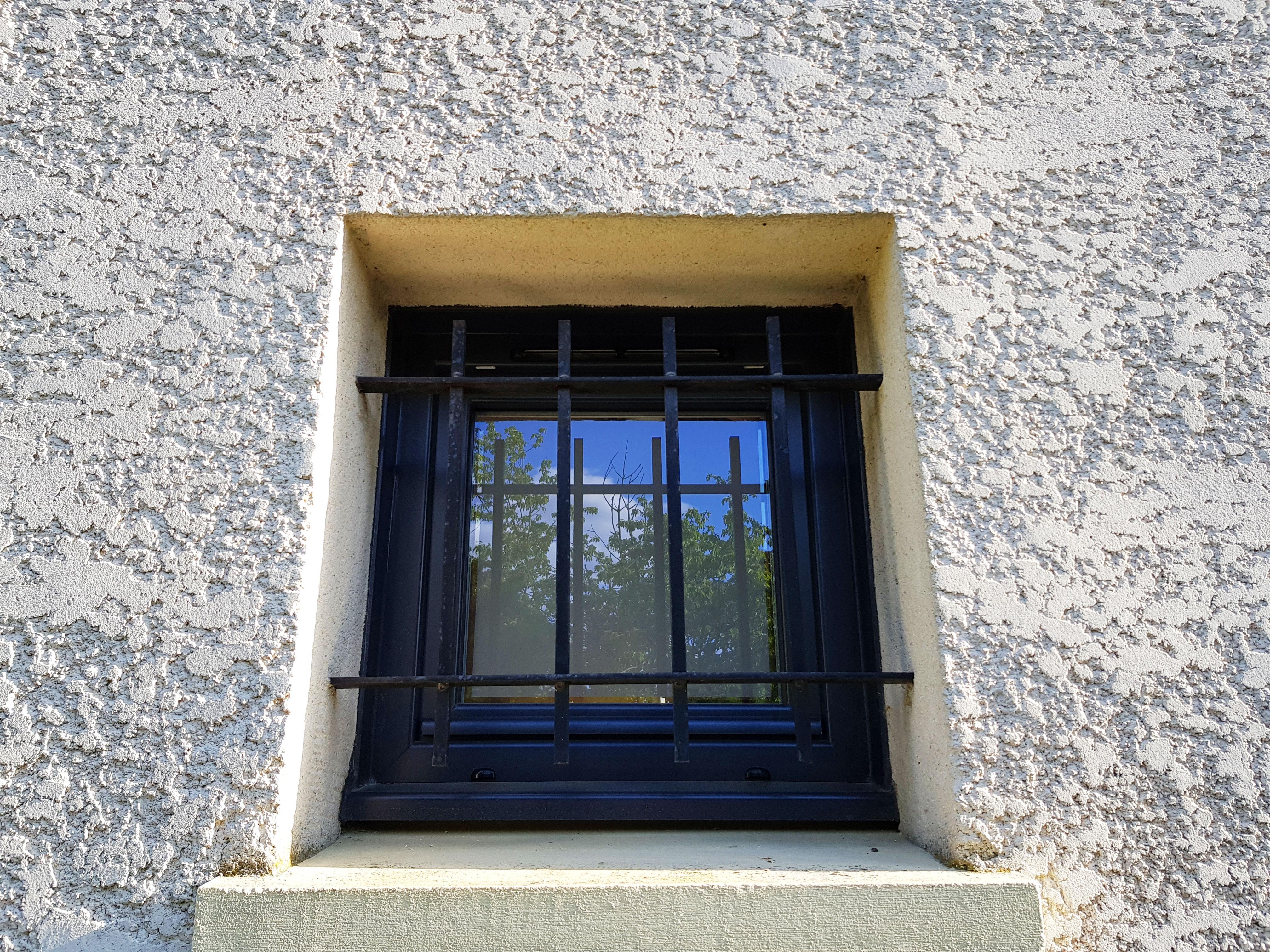 Fenêtre oscillo battant extérieure