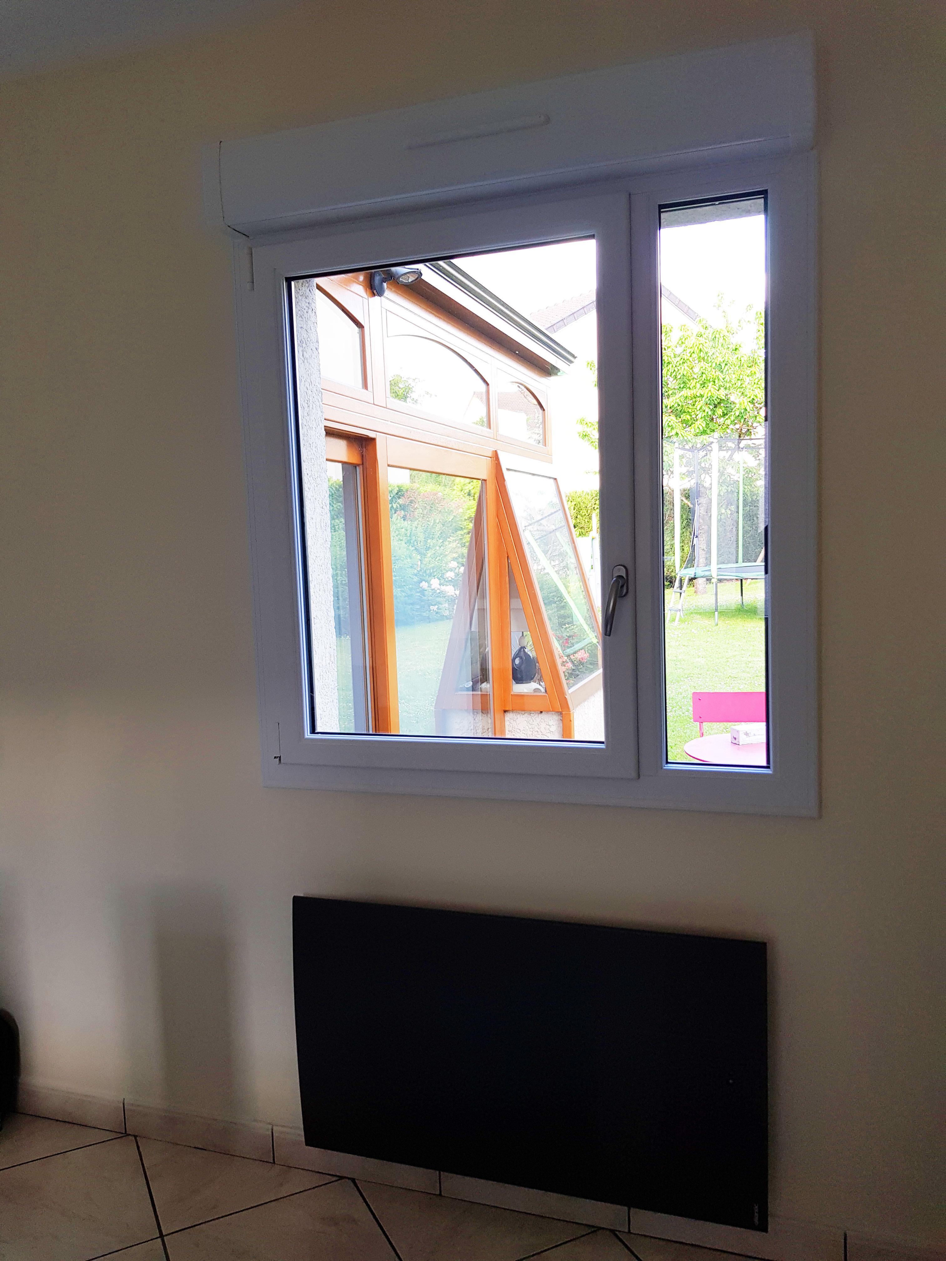 fenêtre intérieur vue salle à manger