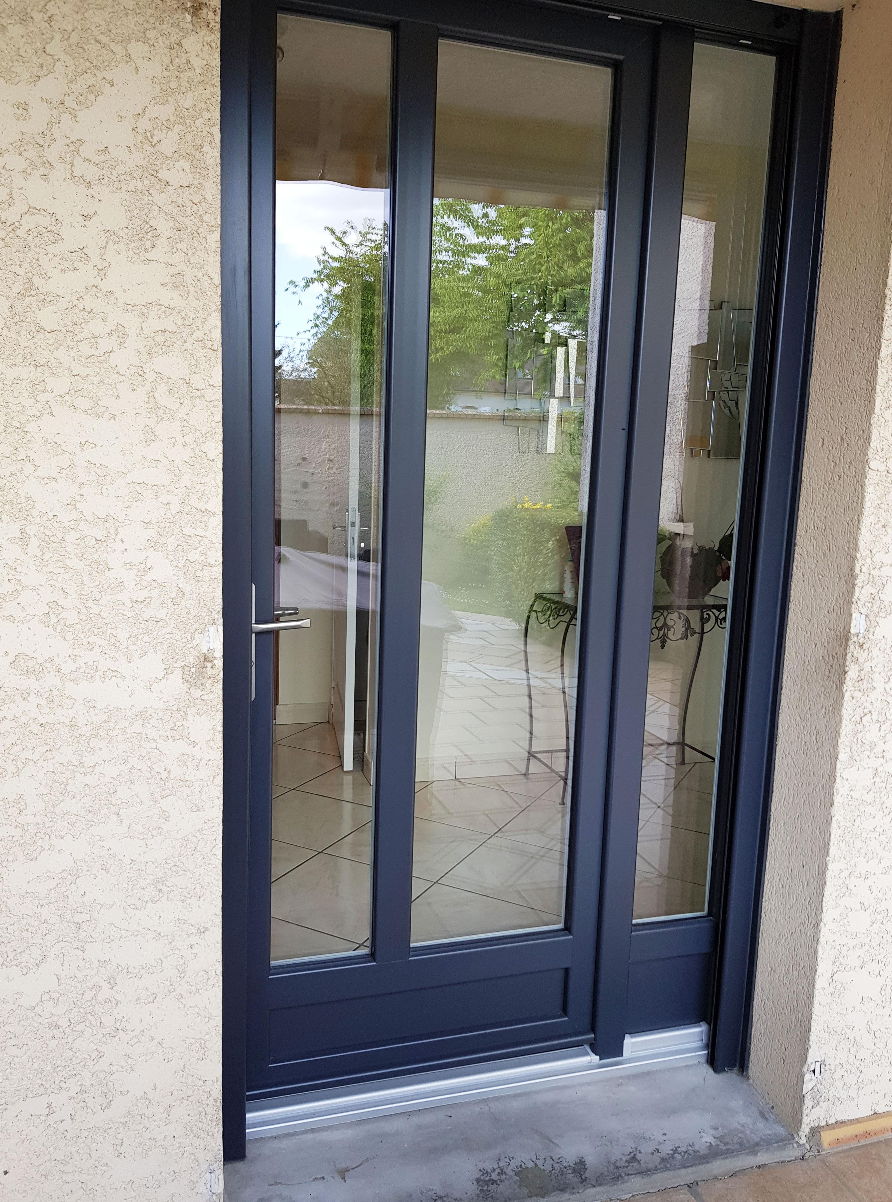 porte fenêtre ouverture française